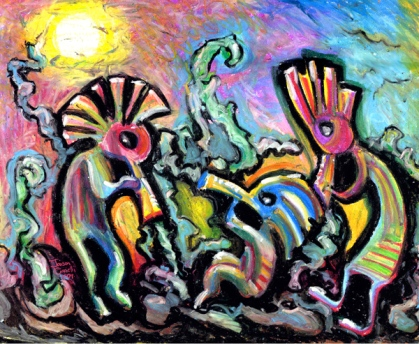 Kokopelli_Painting_Art