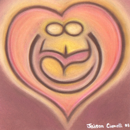 """Create Love"" Heart Painting"