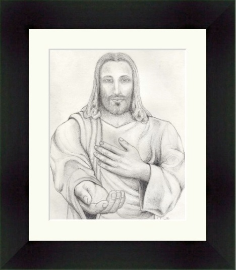 jesus_pencil_drawing_frame