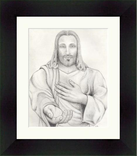 jesus_pencil_drawing_frame